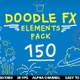 Doodle FX Elements Pack - VideoHive Item for Sale