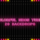 Colorful Neon Tubes HD - VideoHive Item for Sale
