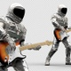 Astronaut Playing Guitar 2 - VideoHive Item for Sale