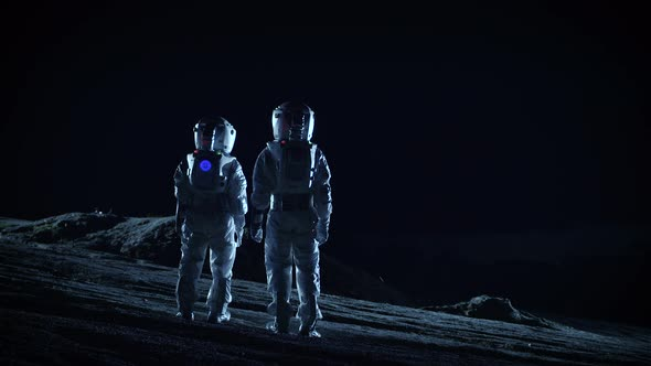 Communication on the moon