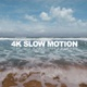 Beautiful Slow Sea Waves - VideoHive Item for Sale