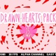 Drawn Hearts Pack - VideoHive Item for Sale