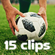Collection of Football Situations - Pack of 15 Clips in 4K - VideoHive Item for Sale