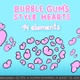 Bubble Gum`s Style Hearts Pack - VideoHive Item for Sale