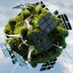 Green Energy Planet Concept - VideoHive Item for Sale