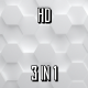 White Hexagons - VideoHive Item for Sale