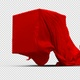 Red Silk Cloth Covering Transparent Box Pack 2 - VideoHive Item for Sale