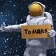 The Road To Mars - Astronaut Hitchhiker - VideoHive Item for Sale