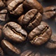 Fragrant Coffee Beans are Roasted in a Frying Pan - VideoHive Item for Sale