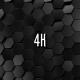 Black Hexagonal Grid - VideoHive Item for Sale