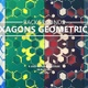 Hexagons Geometric Backgrounds - VideoHive Item for Sale