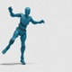 Bot Man with Dancing Swing - VideoHive Item for Sale