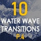 Water Wave Transitions Pack 4 - VideoHive Item for Sale