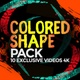 Colored Shapes Pack 10 Videos 4K - VideoHive Item for Sale