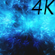 Flying Through Abstract Colorful Blue Nebula in Deep Space - VideoHive Item for Sale
