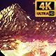 Light Gold Landscape 4k - VideoHive Item for Sale