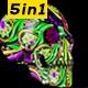 Skull Vj - VideoHive Item for Sale