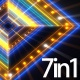 Stage Neon Lights Vj Loops Pack - VideoHive Item for Sale