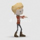 Cartoon Boy with Dancing Hiphop 01 - VideoHive Item for Sale